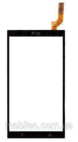 Сенсорный экран (тачскрин) HTC Desire 700 Dual Sim чёрный ориг. к-во