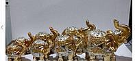 Статуетки фен шуй Слони грошові 7 шт, фото 1