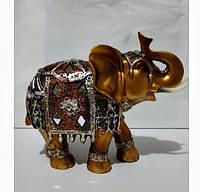 Статуэтка фен шуй Слон денежный, размер 14х 19см.