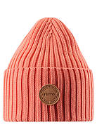 Демисезонная шапка-бини для девочки Reima Hattara 538051.9-3220. Размеры 48/50, 52/54 и 56/58.