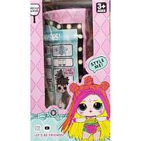 Игрушка сюрприз кукла LOL в капсуле с разноцветными волосами