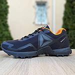 Чоловічі кросівки Reebok Workout 2.0 (чорно-помаранчеві), фото 6