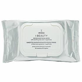 IMAGE Skincare Очищающие и тонизирующие салфетки I Beauty, 30 шт