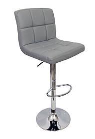 Барный стул хокер Bonro B-628 серый