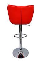 Барный стул хокер Bonro 509 Red, фото 3