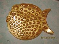 Рыбка ОРТО оранж. Мини-коврики в ванную