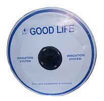 Крапельна стрічка Good Life, 8 mil, через 20 см, бухта 2500