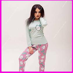 Пижама Хлопковая (бирюза). Размеры: S, M , L, XL