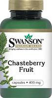 Лечение гинекологических заболеваний у женщин -Плоды авраамового дерева / Chasteberry Fruit, 400 мг 120 капсул, фото 1