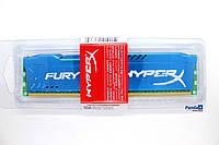 Kingston HyperX FURY Blue DDR3-1600 8192MB PC3-12800 (HX316C10F/8) только для AMD (AM3/AM3+ FM1 FM2/+) DDR3 8G