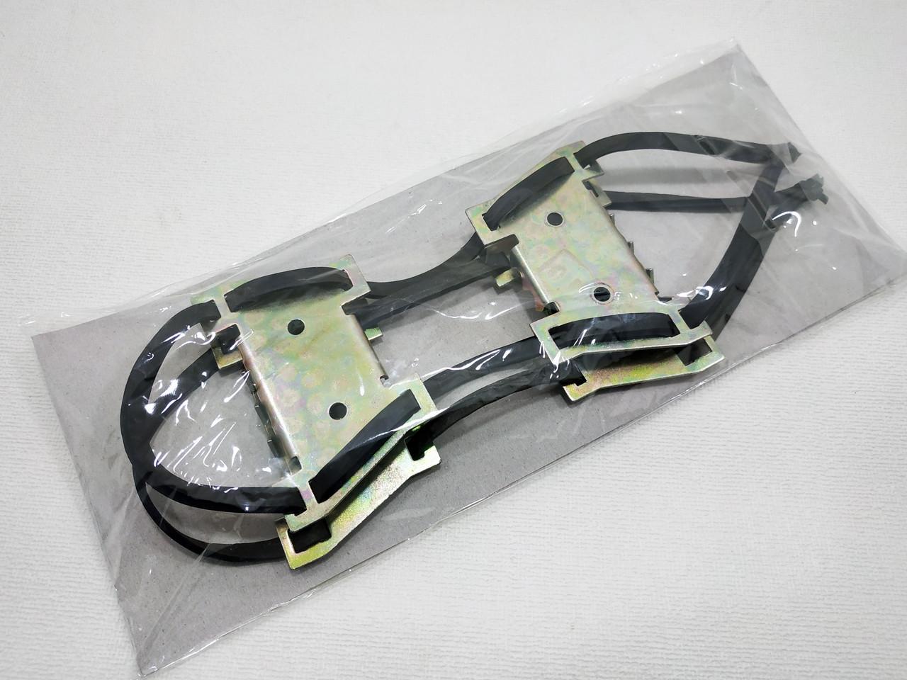 Ледоходы (ледоступы)  универсальные с двумя металическими частями (14 шипов)