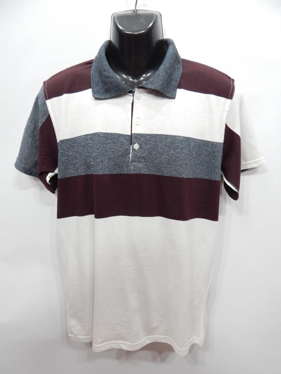 Мужская футболка поло Clartex collection р.50 001мф