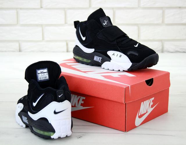Мужские кроссовки Nike Air Max Speed Turf в черно-белом цвете фото