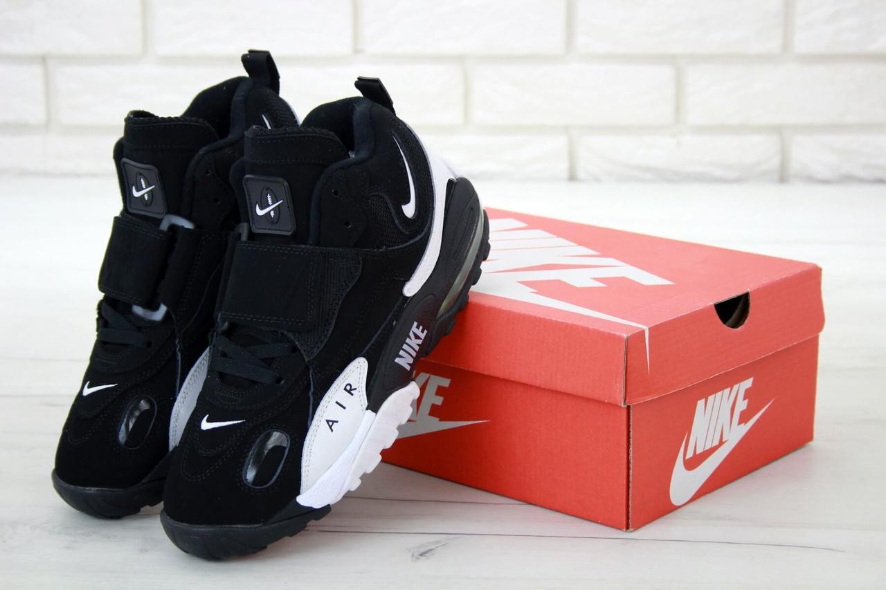 Мужские кроссовки Nike Air Max Speed Turf в черно-белом цвете