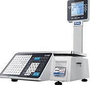 Новая модель торговых весов с чекопечатью – CAS CL-3500 B/P.