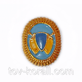 Эмблема охраны (парадная, пластик)