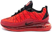 Мужские кроссовки Nike Air Max MX 720-818 Red Найк Аир Макс 720-817 красные