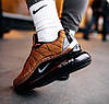 Мужские кроссовки Nike Air Max MX 720-818 Metallic Copper Найк Аир Макс 720-817 коричневые, фото 2