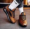 Мужские кроссовки Nike Air Max MX 720-818 Metallic Copper Найк Аир Макс 720-817 коричневые, фото 4
