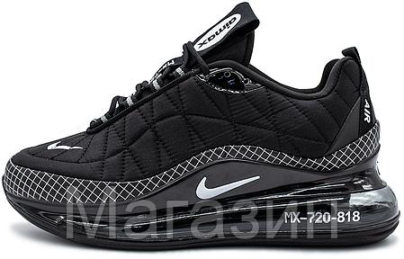 Мужские кроссовки Nike Air Max MX 720-818 Black Найк Аир Макс 720-817 черные, фото 2