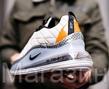 Мужские кроссовки Nike Air Max MX 720-818 White Найк Аир Макс 720-817 белые, фото 2