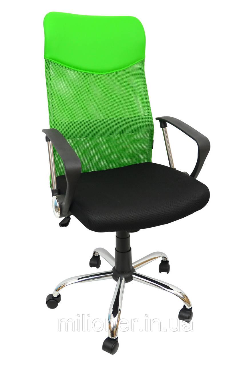 Кресло Bonro Manager зеленое