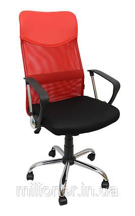 Кресло Bonro Manager Red, фото 2