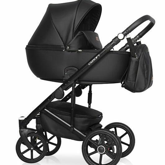 Детская универсальная коляска 3 в 1 Riko Ozon 06 Carbon