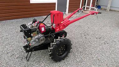Мотоблок гибрид Булат WM 9Е (дизель воздушного охлаждения 9 л.с., электростартер)