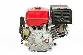 Двигатель бензиновый Weima WM190FE-L (R)  (HONDA GX420) (редуктор 1/2, шпонка, 16 л.с., электр, фото 3