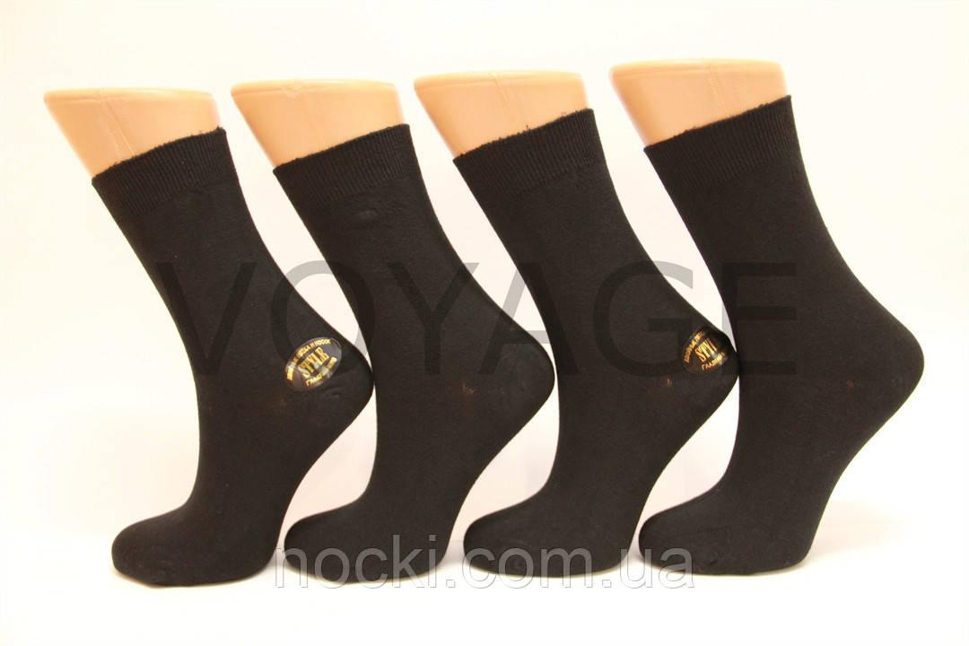 Стрейчевые женские носки STYLE гладкие