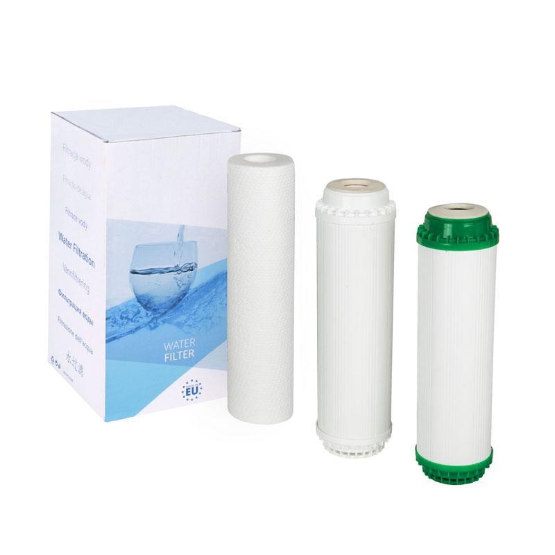 Комплект трёх картриджей Aquafilter FP3-K1-CRT
