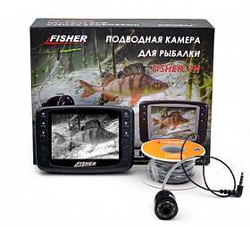 Підводна камера для риболовлі Fisher CR110-7H кабель 15м