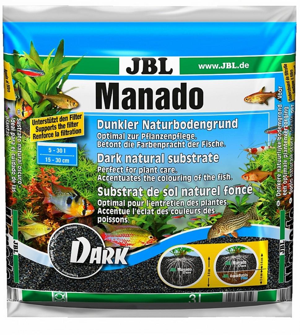 Грунт для аквариума JBL Manado Dark 3L