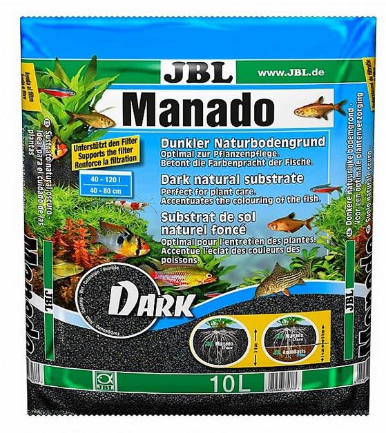 Грунт для аквариума JBL Manado Dark 10L