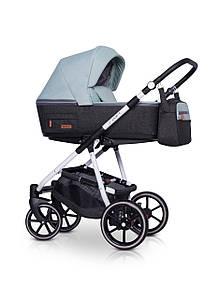 Детская универсальная коляска 3 в 1 Riko Swift Natural 03 Basil