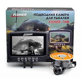Підводна камера для риболовлі Fisher CR110-7HB кабель 15м
