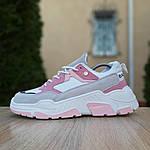 Женские кроссовки Balenciaga Triple S V2 (бело-розовые), фото 2