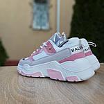 Женские кроссовки Balenciaga Triple S V2 (бело-розовые), фото 6