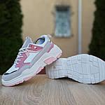 Женские кроссовки Balenciaga Triple S V2 (бело-розовые), фото 9