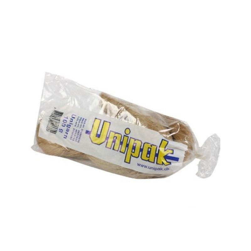 Льняное волокно Unigarn Unipak 100 г косичка 1500010