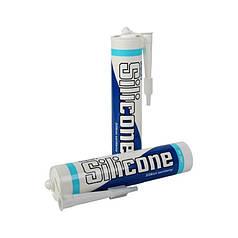 Герметик Unipak Silicone 300 мл белый 6700242