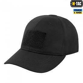 M-Tac бейсболка тактическая Flex черная