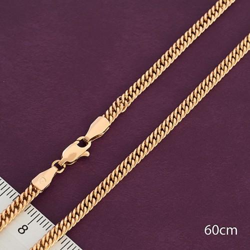 Ланцюжок xuping 3мм 45см позолота 18к панцирні плетіння ц701