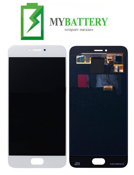 Дисплей (LCD) Meizu Pro 6 (M570) / Pro 6s с сенсором TFT белый