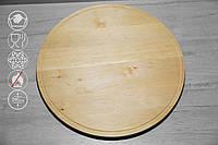 Круглая доска с желобом, D=500 мм