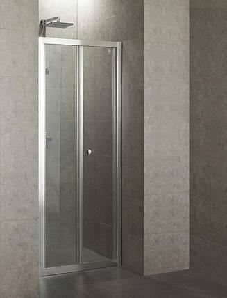 Дверь bifold 80*185 хром прозрачная EGER 599-163-80, фото 2