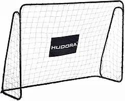 Футбольные ворота игровые Hudora XXL 300x205 см (мини-ворота, уличные)