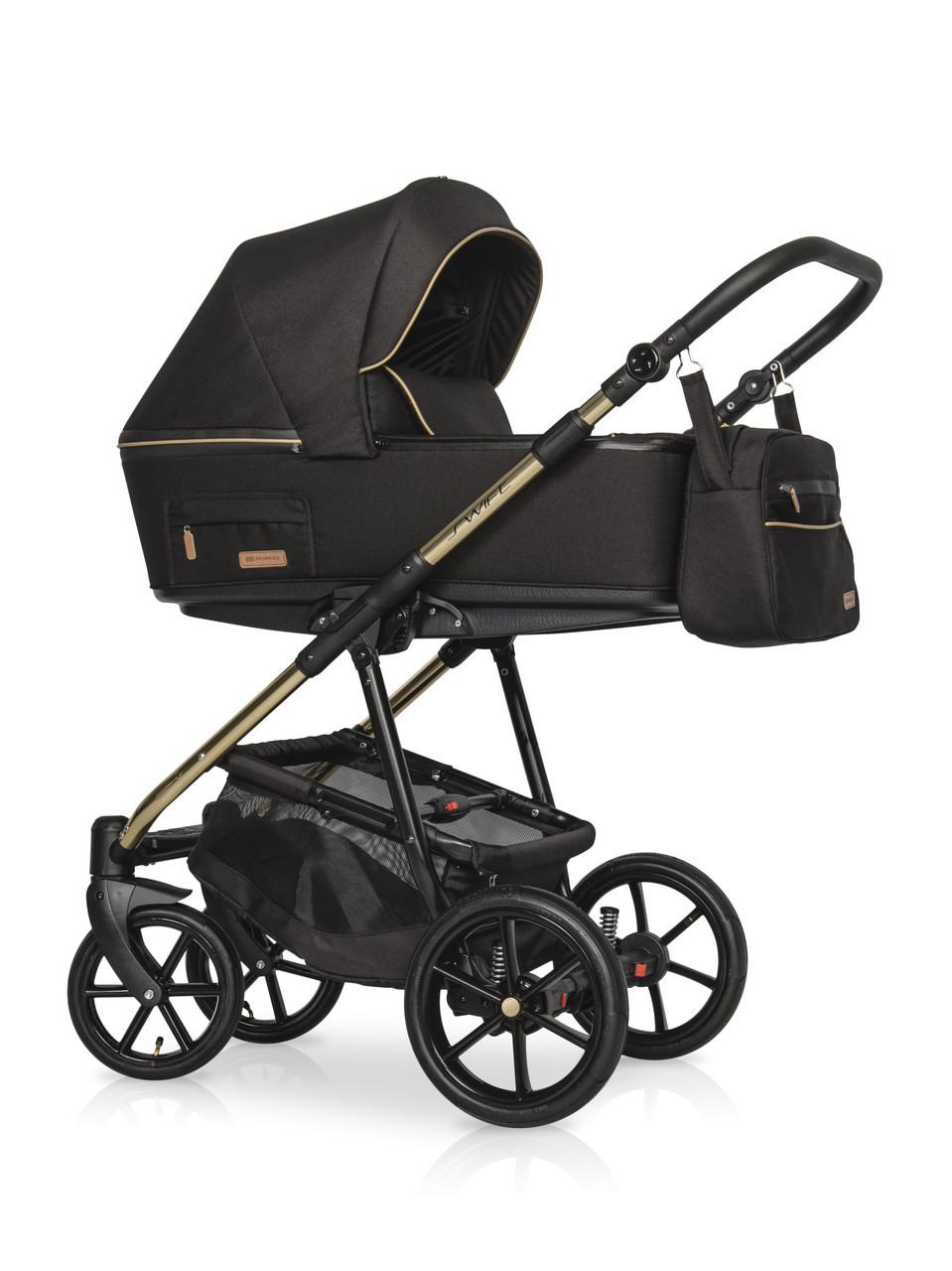 Детская универсальная коляска 3 в 1 Riko Swift Premium 11 Gold