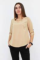 S, M, L, XL / Стильна жіноча блузка Rina, бежевий